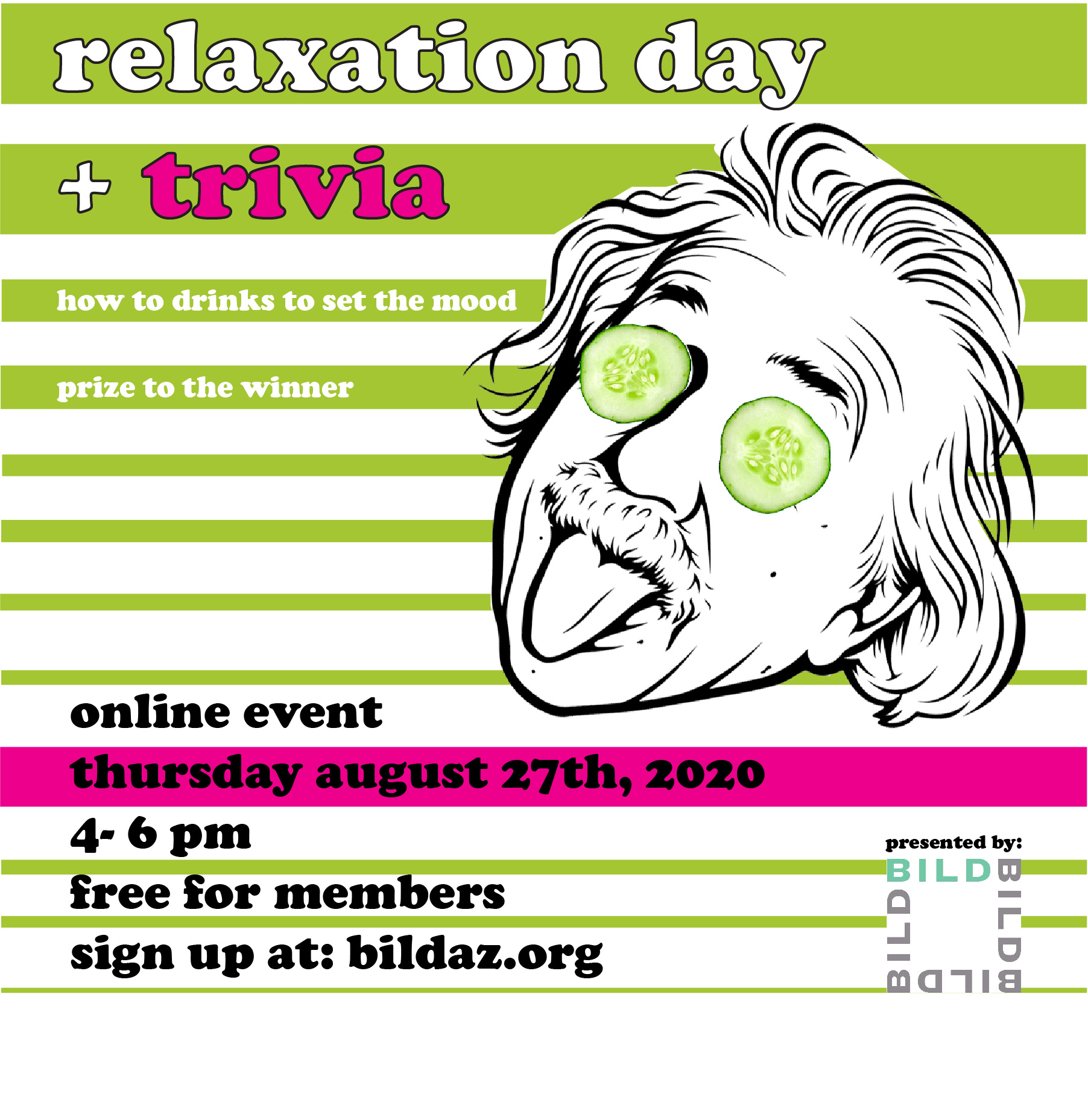Join us for Relaxation Day re-imagined!