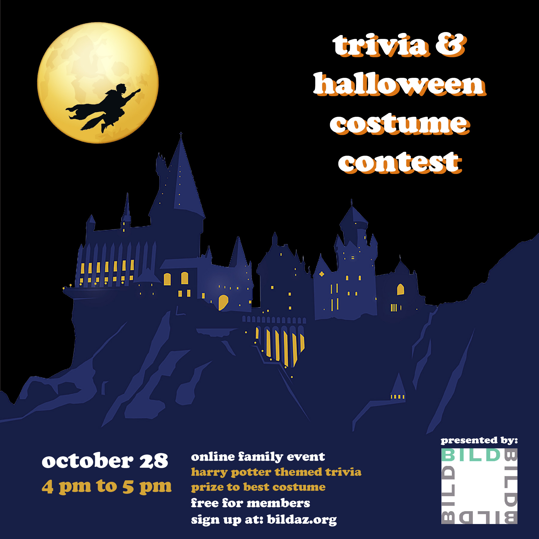 Harry Potter Trivia & Halloween Costume Contest