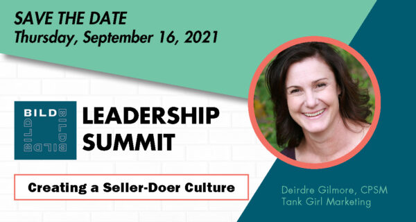SAVE THE DATE FOR THE BILD LEADERSHIP SUMMIT