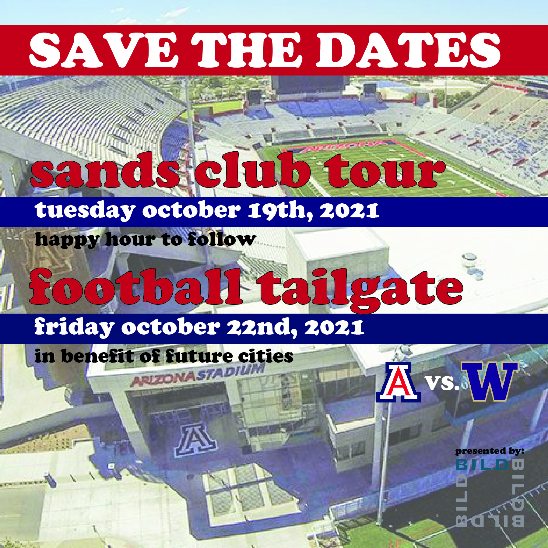 SAVE THE DATES!!!